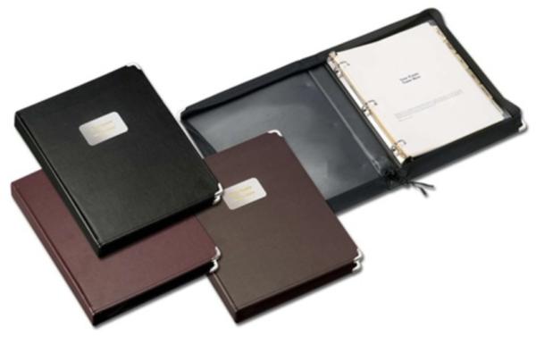 Zippered portfolio kit